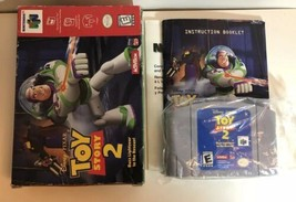 Toy Story 2 Buzz Lightyear to the Rescue Nintendo 64 N64 Complete CIB - $33.94
