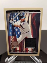 2005 Fleer Mike Piazza GOG-MP National Pastime Game Worn Jersey NM/M - $9.89