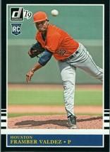 #231 Framber Valdez Houston 2019 Panini Donruss MLB Baseball Card AAG - $2.02