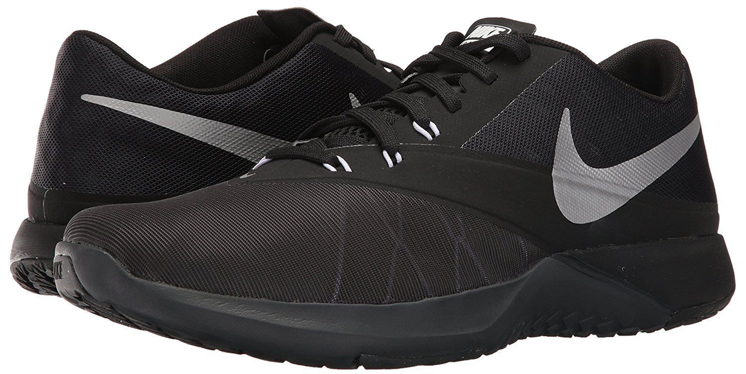 Men's Nike FS Lite Trainer 4 Training Shoes 844794 001 Sizes 8-15 Anthracite/Si