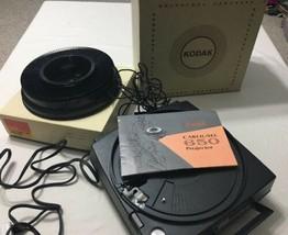 Kodak Carousel 650 Slide Projector, Box,Manual, Remote For Repair Won't ... - $26.42