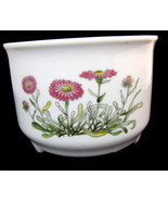 Takahashi San Francisco Hand-painted Planter Vase Container Flowers Whit... - $48.04