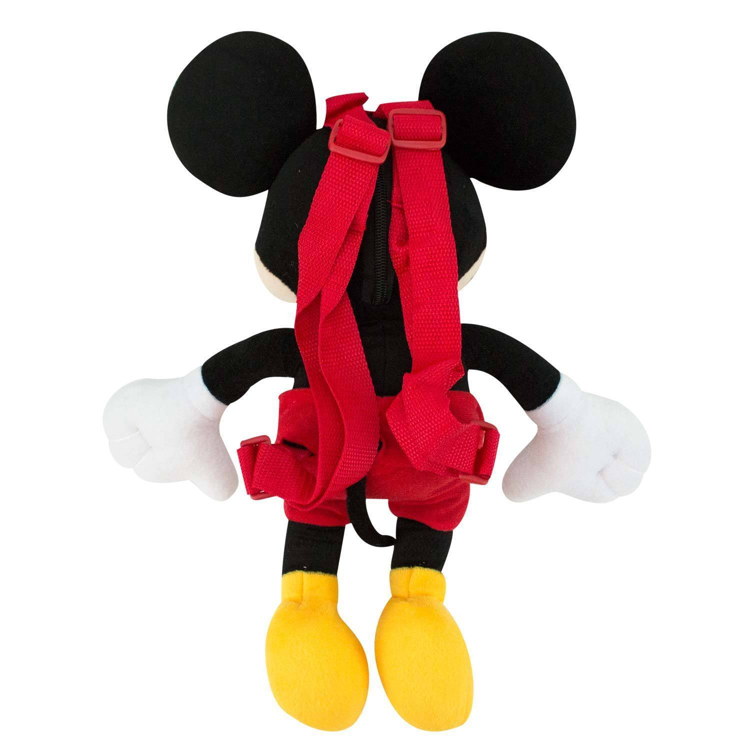 Mickey Mouse Youth Backpack Black