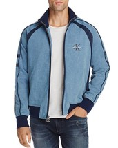 NEW $198 CALVIN KLEIN JEANS MED BLUE WASH FULL ZIP DENIM STRETCH WARM UP... - $44.99