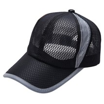 Fashion Summer Breathable Mesh Baseball Cap Men Women Sport Hats Outdoor... - £7.05 GBP