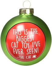 "Enesco 4054466 Cat Toy Christmas Ornament, 5"", Multicolor - $8.95"