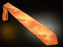 Ralph Marlin Neck Tie Panne Provincio One Long Fresh Baked Crusty Baguet... - $12.99