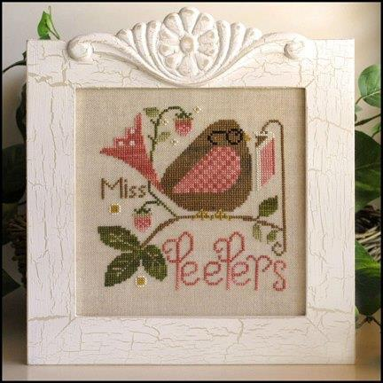 Primary image for Miss Peepers cross stitch chart Little House Needleworks