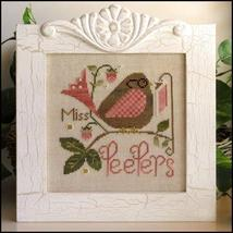 Miss Peepers cross stitch chart Little House Needleworks - $7.20