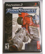 Playstation 2 - TRANSFORMERS (Complete with Manual) - $18.00