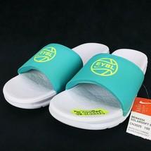 New Nike EYBL Peach Jam Benassi Solarsoft Slides Sandals Size 9 Men's CN... - $99.99