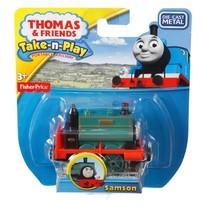 Thomas & Friends Take n Play Samson Diecast Metal Engine - BHW43 - New - $14.67