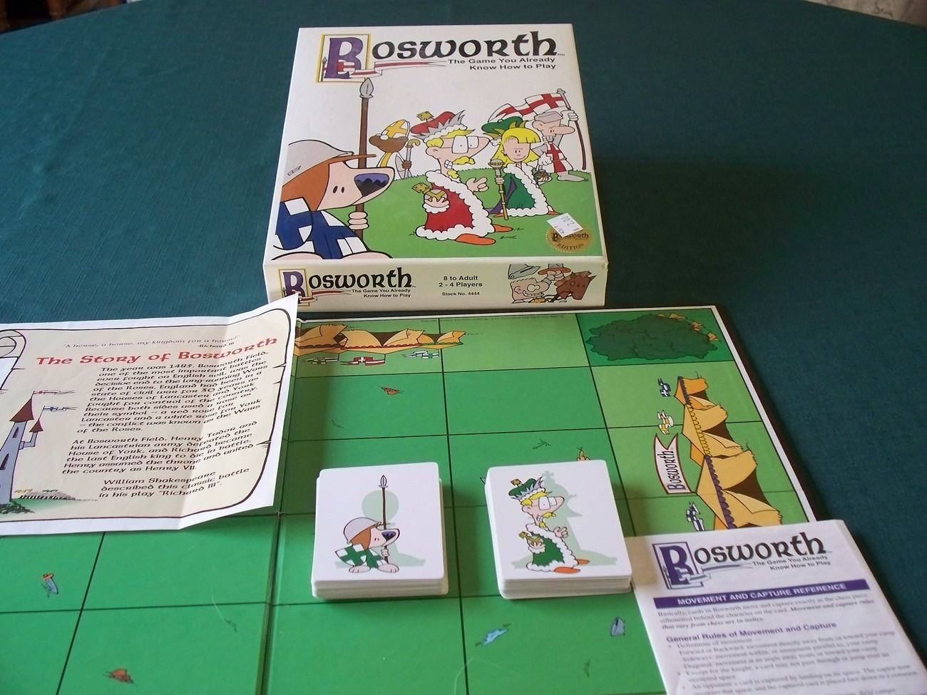 """Bosworth 'Battlefield Chess"""" Game OTB Games 1998 Complete"""