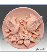 2D Silicone Soap Mold – Birds with Nest - $28.00