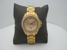 Women's Fossil 10 ATM WR Analog Crystals Date Dial Casual Watch (B988) - $39.60