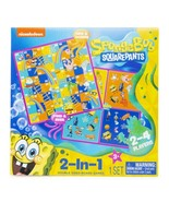 NEW SEALED 2020 Nickelodeon Spongebob SquarePants 2 in 1 Board Game - $13.99