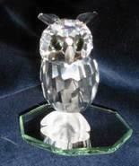 1996 Swarovski Silver Crystal Night Owl  No. 20... - $200.00