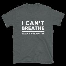 I Can't Breathe T-shirt / I Can't Breathe Short-Sleeve Unisex T-Shirt image 10