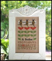 A Beeline cross stitch chart Country Cottage Needleworks - $7.20