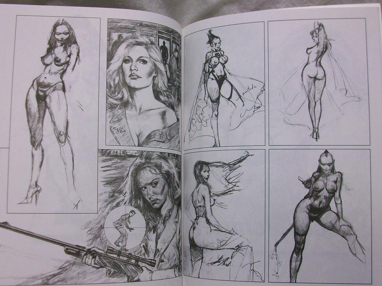 Flesh & Fire Ballego, Blas Sketchbook
