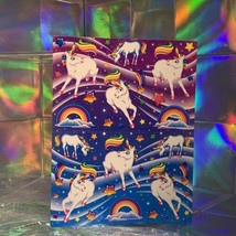 ⚡️SALE S277 Lisa Frank Full Sticker Sheet Markie The Unicorn HIGHLY SOUGHT AFT