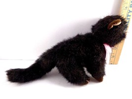 Halloween Ty Black Cat Heiress Pink Bow Plush Stuffed Animal Toy Doll image 2