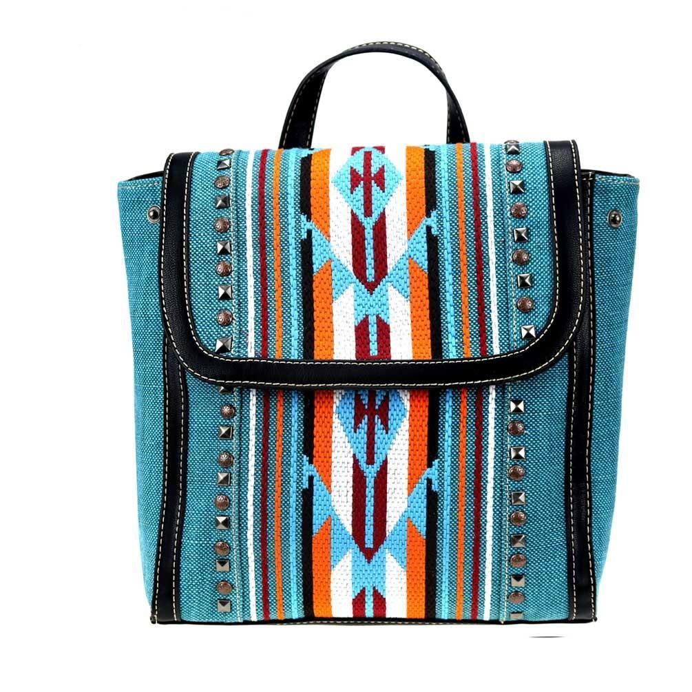 NWT Montana West Aztec Turquoise Backpack
