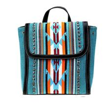 NWT Montana West Aztec Turquoise Backpack image 1