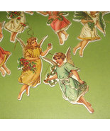 Vintage 1986 paperboard angel ornaments or gift tags - $5.99