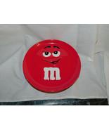 M Ms Ceramic Red 8 Inch Plate 2002 Galerie - $6.99