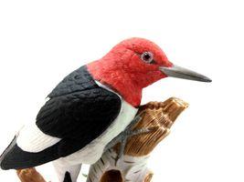 THE LENOX GARDEN BIRD COLLECTION Red Headed Woodpecker (Fine Porcelain 1999) image 11