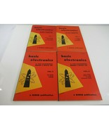 Basic Electronics 1955 First Edition Valkenburgh Nooger Neville Vols. 1 ... - $24.18
