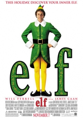 2 2003 ELF Christmas Movie Posters 11x17 Will Ferrell NEW/OLD STOCK