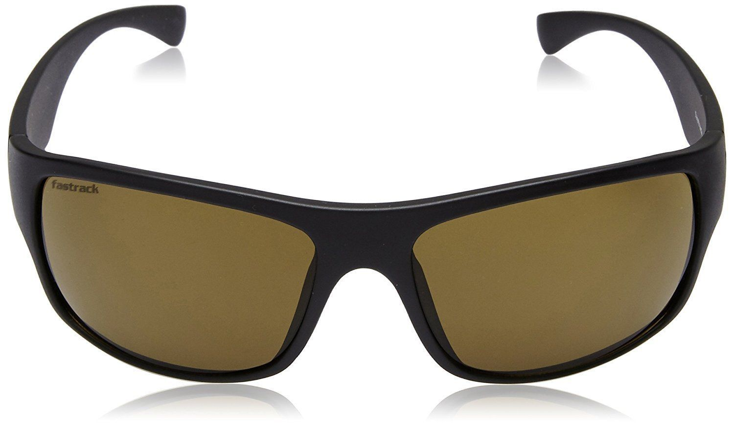 Fastrack UV Protected Unisex Sunglasses - (P192BR2|62.1|Brown)