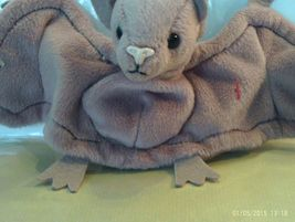 1st Edition TY Beanie Babies Rare Batty the Brown Bat,PVC, No Stamp - $8.99