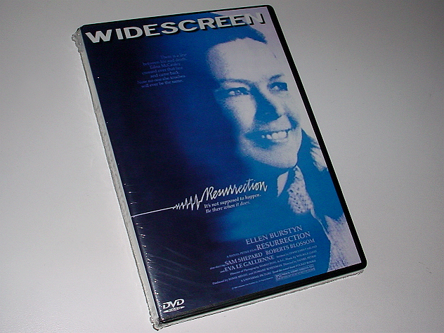 Resurrection Ellen Burstyn DVD Widescreen