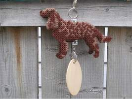 American Water Spaniel crate tag or hang anywhere, handmade dog kennel a... - $26.00