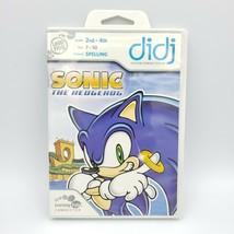 Pre-owned LeapFrog Didj Custom Learning Game Sonic the Hedgehog - $6.88