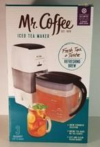 Mr. Coffee Iced Tea Maker 3 Quart TM75BK Black / White with Original Box... - $49.49