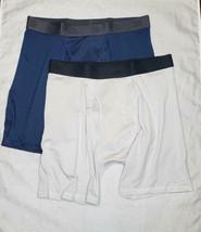 Boys' 2 pack Mesh Boxer Briefs - All in Motion Moisture wicking Blue Gra... - $6.99