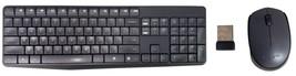 Logitech MK235 Durable Wireless Combo K235 Keyboard & M170 Mouse w/ USB ... - $24.99