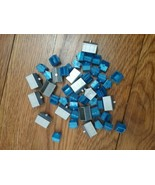 Monopoly Here and Now Houses~Hotels 44 Plastic set board game pieces parts - $3.20