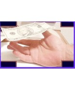 Floating Currency Magic Trick - Bill Rises From Your Hand - $5.95