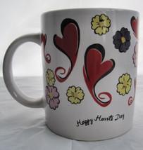Happy Hearts Days Valentine Coffee Latte Tea Drinking Cup Mug image 1