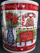 Avon Friends Forever Valentine Hearts Coffee Latte Tea Drinking Cup Mug image 2