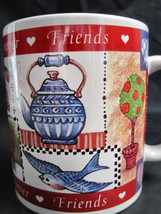 Avon Friends Forever Valentine Hearts Coffee Latte Tea Drinking Cup Mug image 3