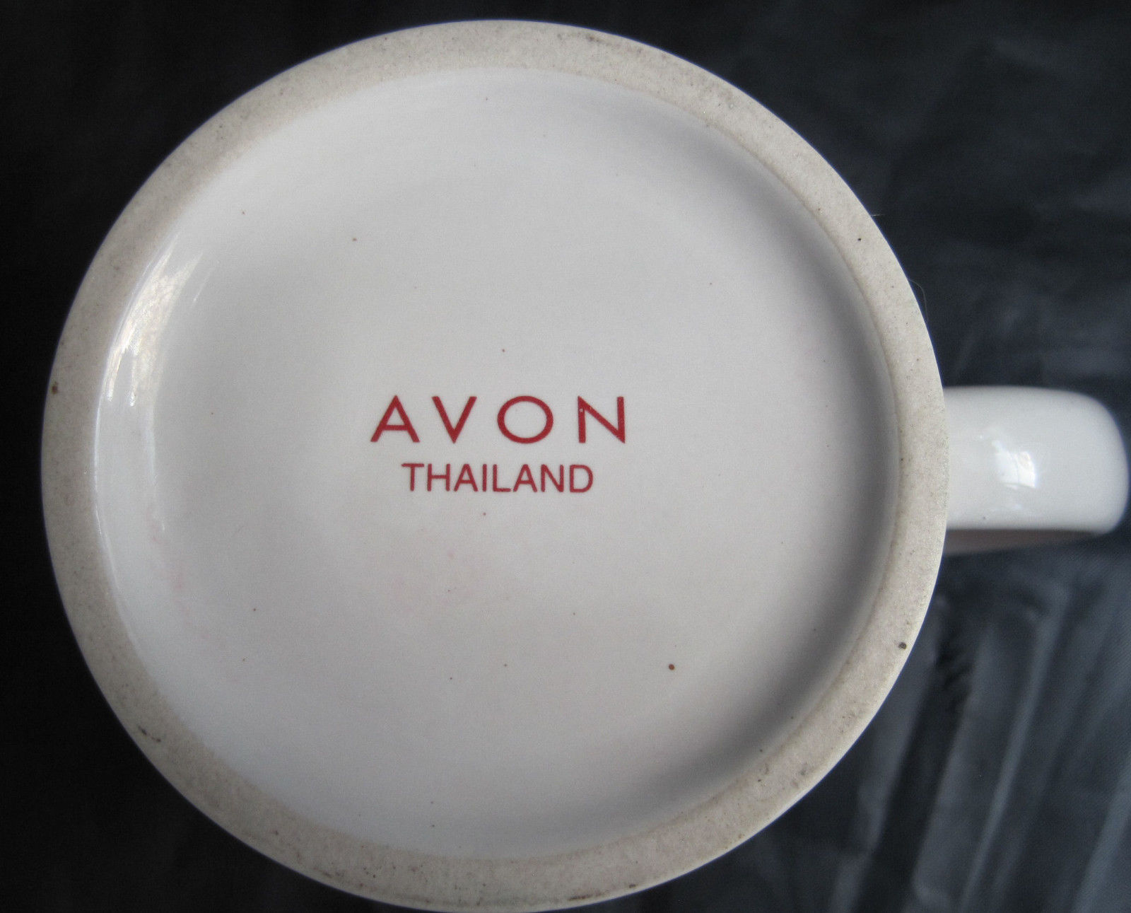 Avon Friends Forever Valentine Hearts Coffee Latte Tea Drinking Cup Mug image 5