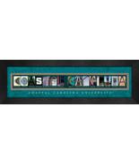 Coastal Carolina University Officially Licensed Framed Campus Letter Art - $39.95