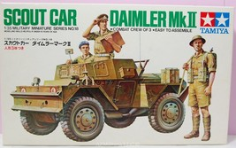 1/35 Scout Car Daimler Mk II Kit No MM118 Series No. 18 - $21.75