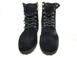 Sebago Womens Astoria B50128 Slip Resistant Ankle Boot Shoes Black/Royal... - $53.20